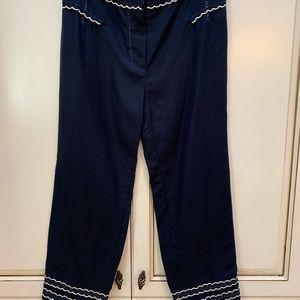 Women's Louis Vuitton linen pants